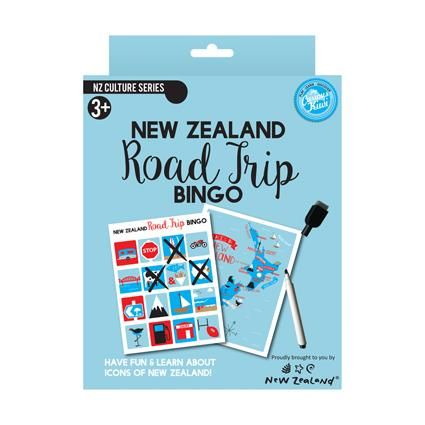 ROAD TRIP BINGO GAME NZ
