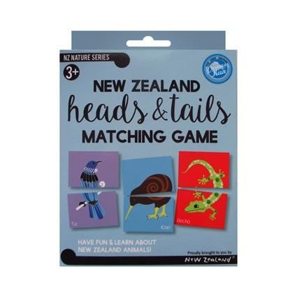 NZ HEADS & TAILS GAME BOX SET