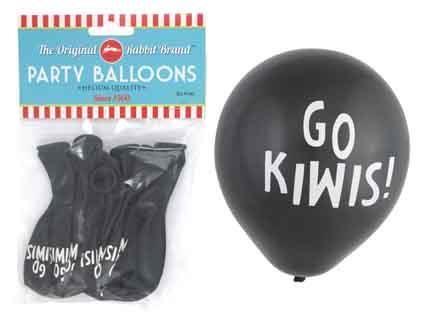 BALLOONS GO KIWIS 8PC^
