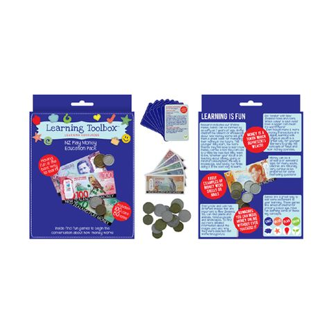 PLAY MONEY NZ CURRENCY EDUC PACK