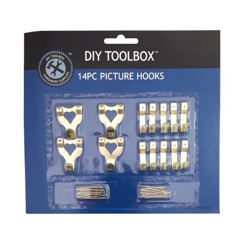 PICTURE HOOKS 14PC