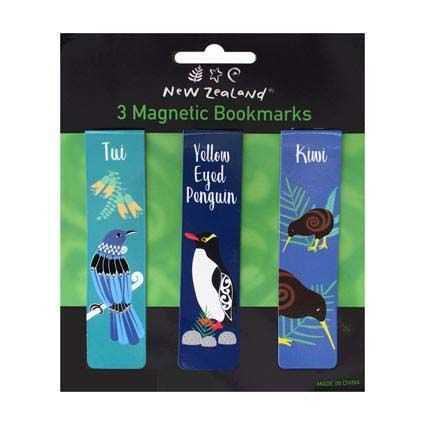 BOOKMARK MAGNETIC BIRDS OF NZ