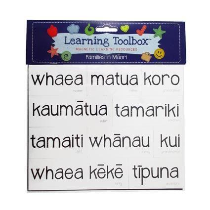 MAGNETIC NZ MAORI WHANAU^