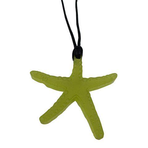 KOHA PENDANT STARFISH - BRIGHT GREEN^