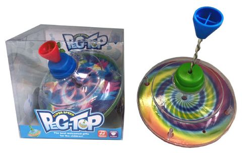 SPINNING TOP WITH LIGHT & MUSIC