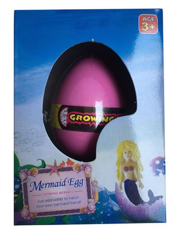 GROWING MERMAID IN EGG