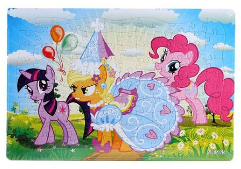 JIGSAW PUZZLE UNICORN 120PC^