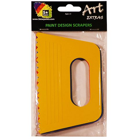 ART EXTRA 4 PAINT & SAND SCRAPERS