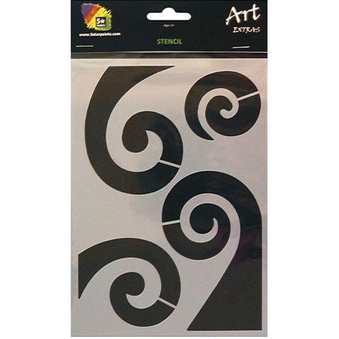 ART EXTRA STENCIL A5 KORU