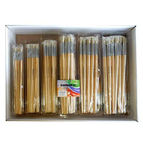 BRUSH CHINESE BRISTLE ROUND 582 CLASSROOM SET