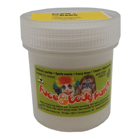 FACE PAINT GLOW N DARK WHITE 60 ML