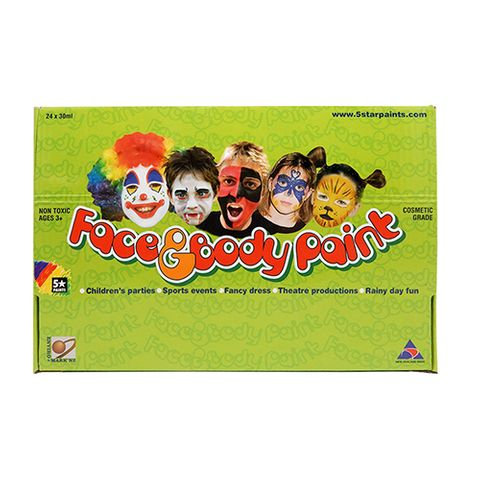 FACE PAINT MIXED DISPLAY 24 X 30 ML^