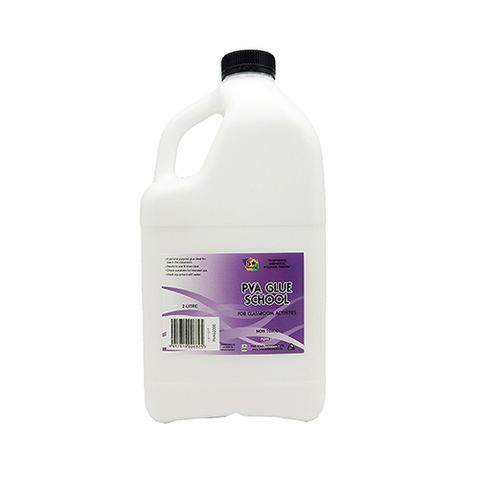 PVA GLUE - SCHOOL 2 LITRE
