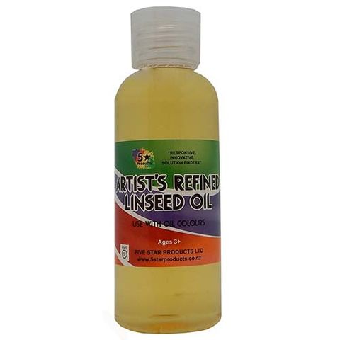 ARTISTS REFINED LINSEED OIL 60 ML