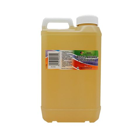 ARTISTS REFINED LINSEED OIL 1 LITRE