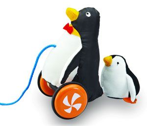 PULL ALONG PENGUIN^