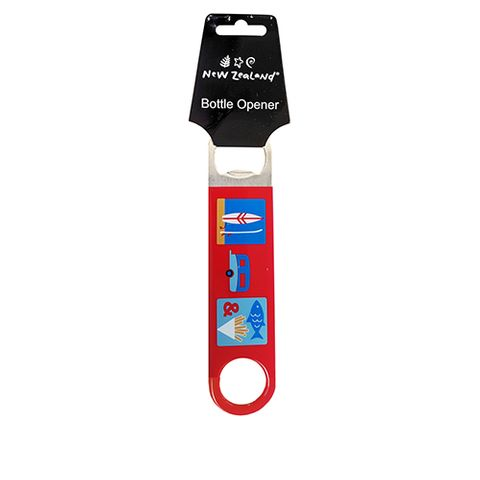 BOTTLE OPENER NZ BEACH & CARAVAN