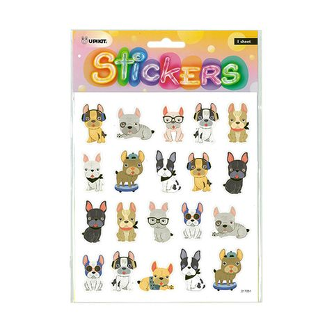 UPIKIT STICKER PUG DOGS