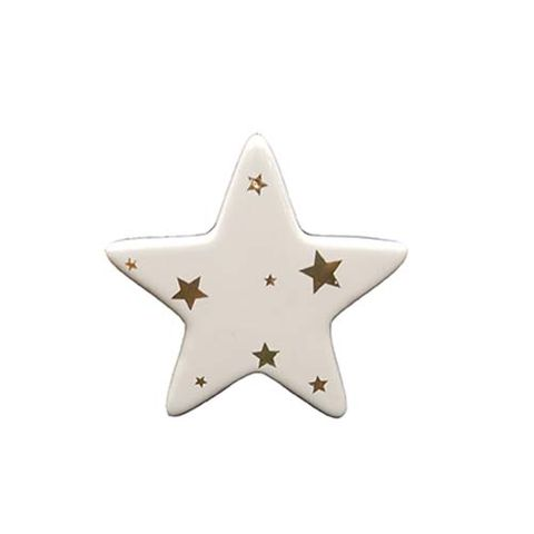 STAR - WHITE WITH STARS 80 MM