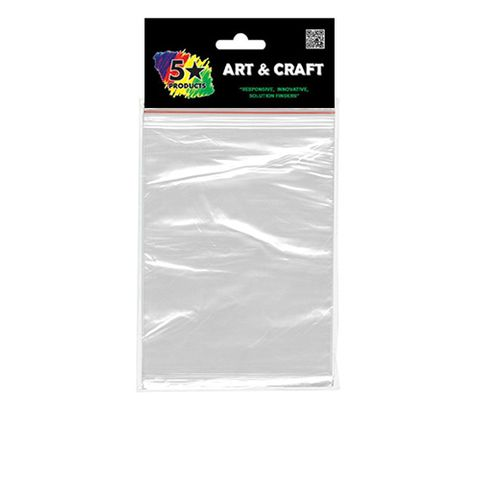 CRAFT RESEALABLE BAGS 15X20 CM 20 PC^