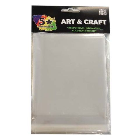 CRAFT SELF SEAL BAGS 13.5 X10.5CM 40PC