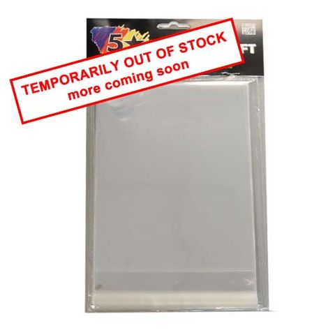 CRAFT SELF SEAL BAGS 12.5 X17.5CM 30PC