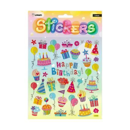 UPIKIT STICKER HAPPY BIRTHDAY