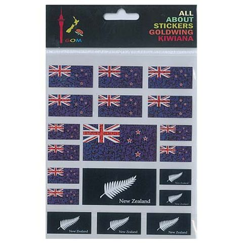 STICKER NZ FLAGS
