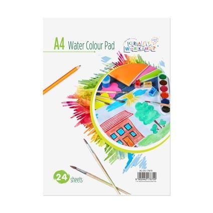 A4 WATERCOLOUR ART PAD 24SH 180GSM