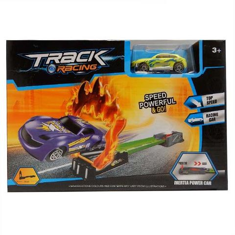 TRACK RACER JUMP SET WITH DIECAST CAR