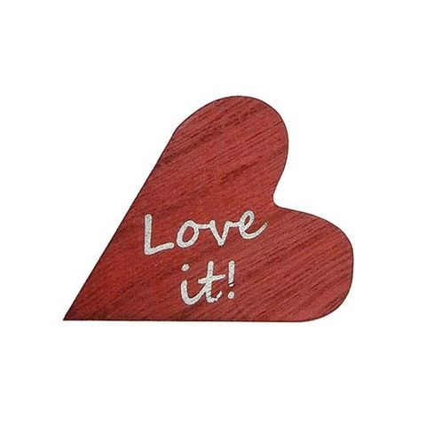 WOODEN HEART 'LOVE IT'