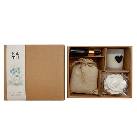 SCENTED GIFT BOX - WILD ROSE