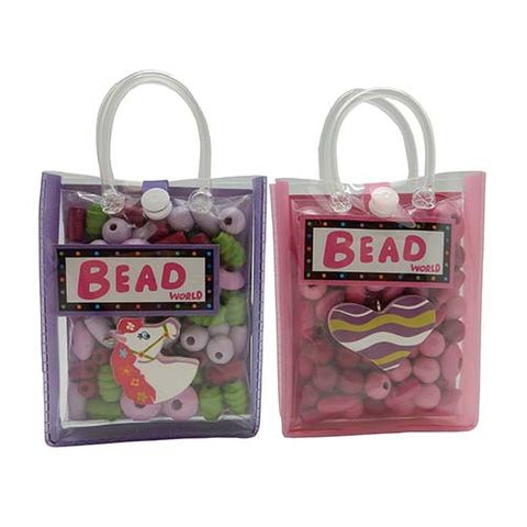 BEAD BAGS HORSE & HEART 2ASST - SINGLE UNITS