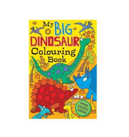 COLOURING BOOK DINOSAUR 72PG