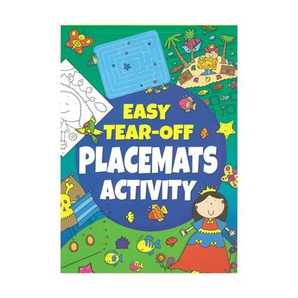 EASY TEAR PLACEMAT ACTIVITY A4 56PG