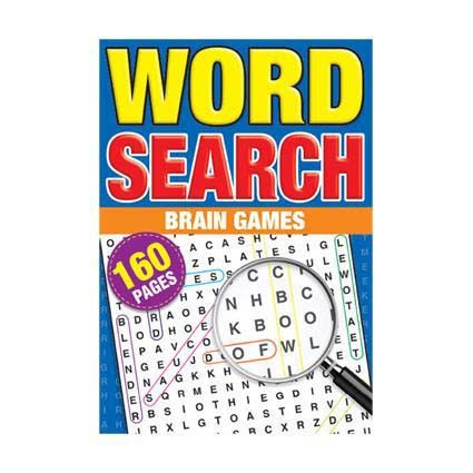 WORD SEARCH PUZZLE BOOK A5 160PG