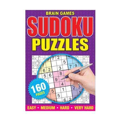 SUDOKU PUZZLE BOOK A5 160PG
