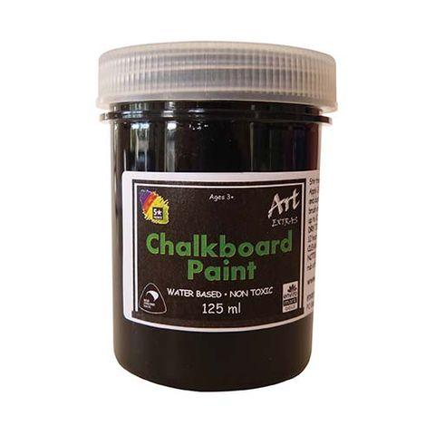 AE CHALKBOARD PAINT W/B BLACK 125 ML
