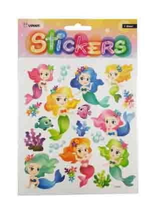 UPIKIT STICKER PLAYFUL MERMAIDS