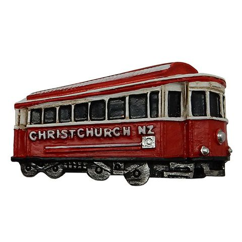 CHRISTCHURCH TRAM MAGNET