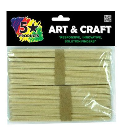 JUMBO STICKS NATURAL 50PC