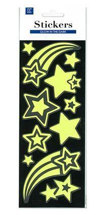 WALL STICKER GLOW IN DARK STARS