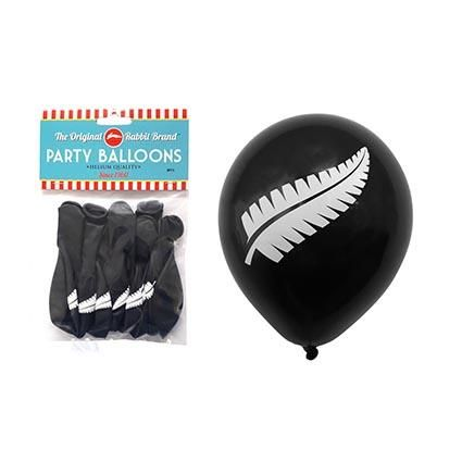 BALLOONS NZ FERN 8PC