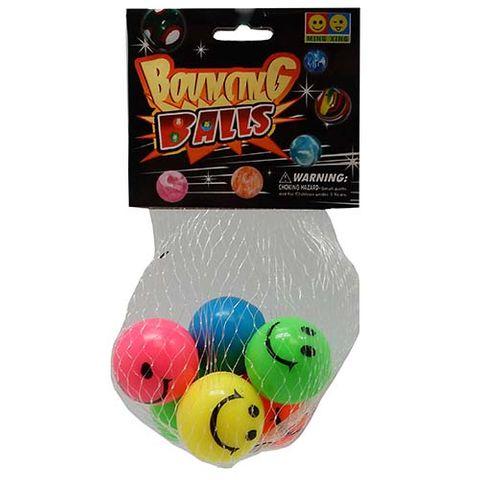 HIGH BOUNCE BALLS 6PCS 32MM