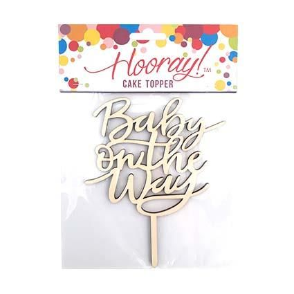 CAKE TOPPER BABY ON THE WAY^
