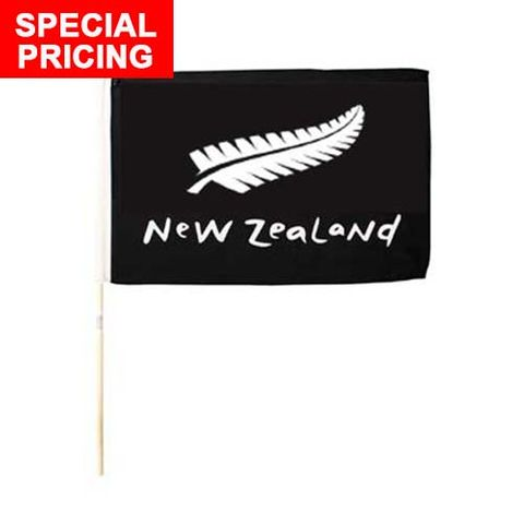 FLAG NZ FERN DESIGN 30X45CM^