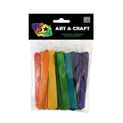JUMBO STICKS COLOUR 50PC
