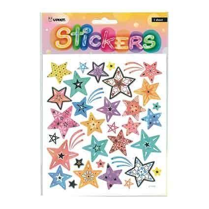 UPIKIT STICKER PASTEL STARS