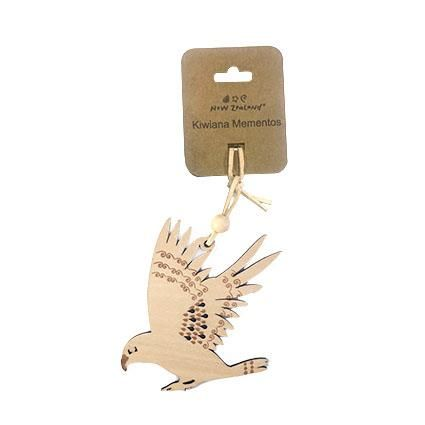 NZ HANGING ORNAMENT KEA 10CM