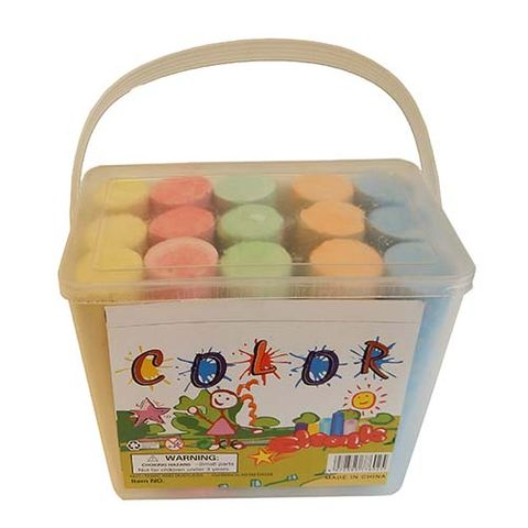 CHALK JUMBO 15PC (COLOR)